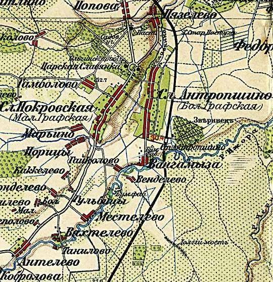 Вся карта Окрестностей