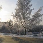 Зима в Коммунаре